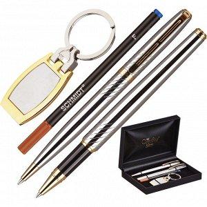 Набор пишущих принадл. VERDIE Ve-53 ручка+роллер+брелок,дерев.фут...
