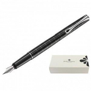 Ручка перьевая DIPLOMAT Optimist rhomb М синий D20000208