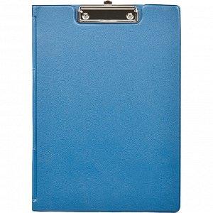 Папка-планшет BANTEX 4210-01 A4 синий с верх.створкой Россия