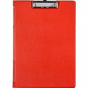 Папка-планшет BANTEX 4210-09 A4 красный с верх.створкой Россия