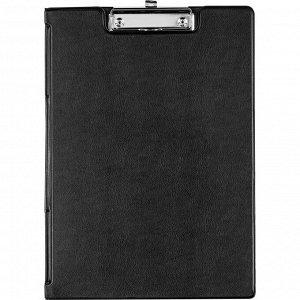 Папка-планшет BANTEX 4210-10 A4 черный с верх.створкой Россия