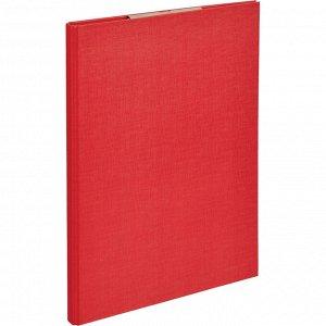 Папка-планшет д/бумаг Attache A4 красный с верхней створкой