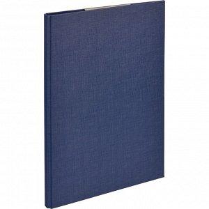 Папка-планшет д/бумаг Attache A4 синий с верхней створкой