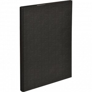 Папка-планшет д/бумаг Attache A4 черный с верхней створкой