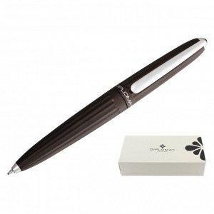 Ручка шариковая DIPLOMAT Aero brown metallic синий D40304040
