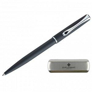 Ручка шариковая DIPLOMAT Traveller lapis black синий D20000817