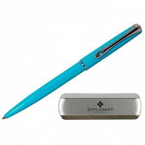 Ручка шариковая DIPLOMAT Traveller Lumi blue синий D20001071