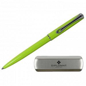 Ручка шариковая DIPLOMAT Traveller Lumi green синий D20001073