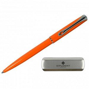 Ручка шариковая DIPLOMAT Traveller Lumi orange синий D20001069