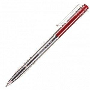 Ручка шариковая автоматическая Attache Bo-bo 0,5мм автомат.красны...