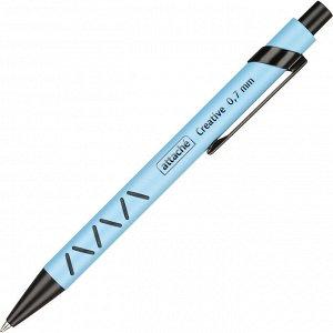 Ручка шариковая автоматическая Attache Creative,син.ст.автомат, г...