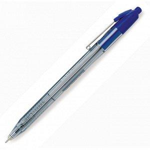 Ручка шариковая автоматическая Attache Glide Trio 0,7мм син, масл...
