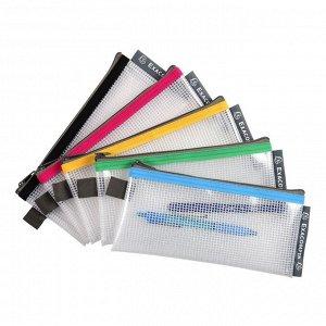 Папка-конверт на молнии ZIP EVA 34110 95x200 мм, цвета в ассорт
