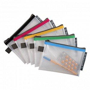 Папка-конверт на молнии ZIP EVA 34120 165x120 мм,цвета в ассорт