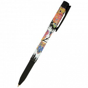 Ручка шариковая BRUNO VISCONTI FreshWrite.Золотая сова синий 0,7мм