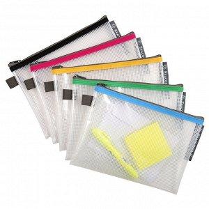Папка-конверт на молнии ZIP EVA 34140 170x230мм, цвета в ассорт