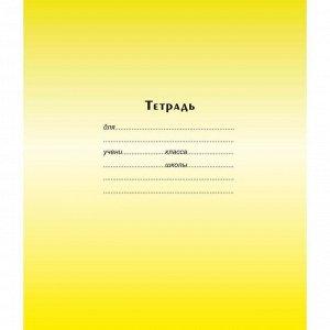 Тетрадь школьная А5 12л,част.кос.линия,скрепка Градиент ТШ12К9183...