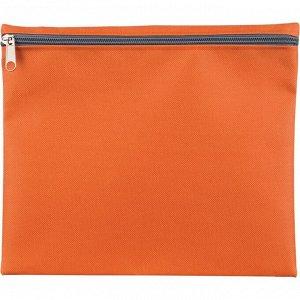 Папка-конверт на молнии Attache Fantasy п/э А5 оранжевый