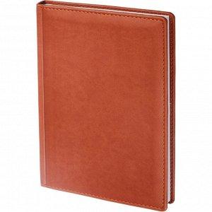 Ежедневник недатированный коричнев,А5,148х218мм,176л,ATTACHE Вива