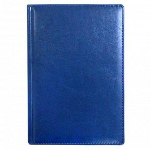 Ежедневник недатированный синий 148х218мм,тонир. 176л,АТТАСНЕ НЕБ...