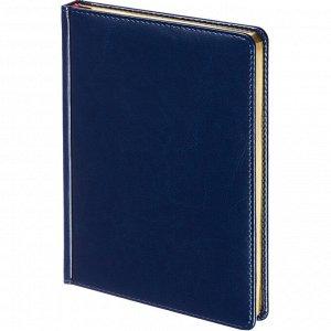 Ежедневник недатированный синий,А5,145х205мм,136л, Sidney NEBRASKA