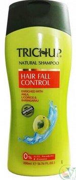 Шампунь для волос Тричуп против выпадения Trichup Herbal Shampoo Hair Fall Control 200 ml, Vasu