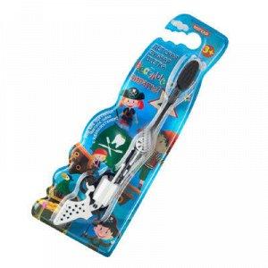 Зубная щетка детская в форме револьвера «Веселые пираты»