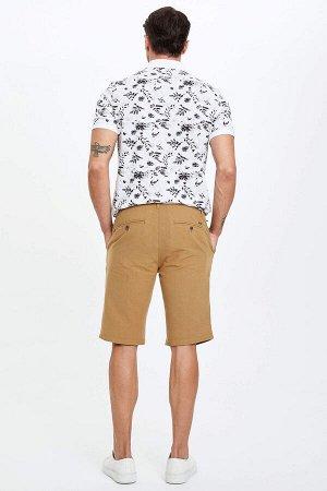 шорты Размеры модели: рост: 1,89 грудь: 100 талия: 81 бедра: 97 Надет размер: 32  Хлопок 45%,Keten 55%