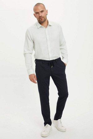 рубашка Размеры модели: рост: 1,82 грудь: 98 талия: 81 бедра: 96 Надет размер: M  Хлопок 60%, Полиэстер 40%