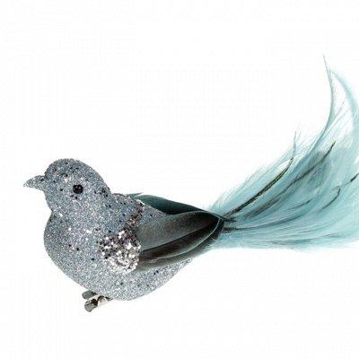 Скоро 🌲Новый Год 🌲-ПРЕДЗАКАЗ -40% от Розничной цены  — Птицы СЧАСТЬЯ  на прищепке — Все для Нового года