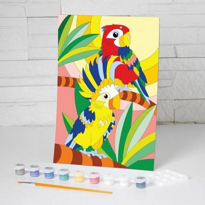Витражные пленки для декора, товары для дома — Роспись, раскраски, картины по номерам