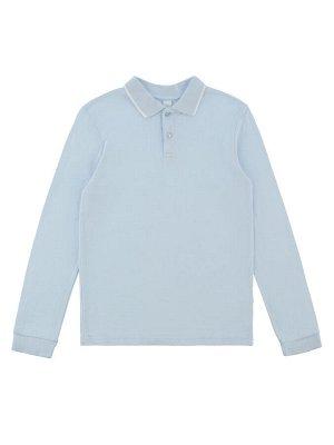 Сорочка-поло верхняя детская для мальчиков Faux-Inf base голубой