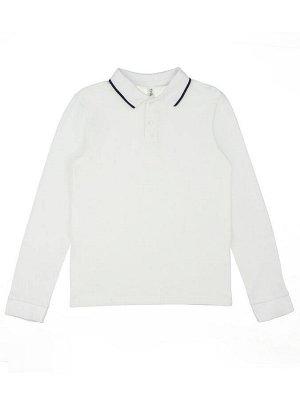 Сорочка-поло белый