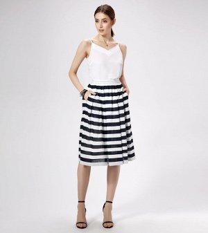 Юбка миди Лён/linen 55%; хлопок/cotton 45%. Рост: 164 см. Прекрасная стильная юбка на хлопковой подкладке ,выполненная из тонкого и мягкого льняного полотна ,непременно украсит ваше лето и подарит чуд