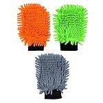 Варежка для мытья автомобиля из микрофибры