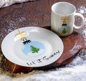 Набор посуды Let it snow