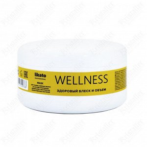 Маска для тонких и жирных волос Wellness, 250 мл