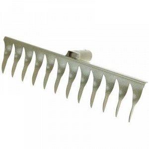 Грабли витые 12 зубые, 36-40см, s0,02см, металл, окрашенные.