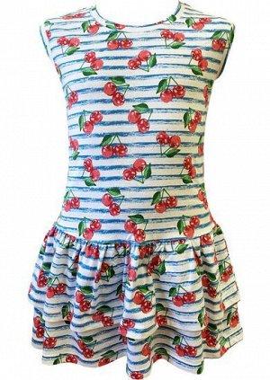 """Платье """"Вишня в саду"""""""