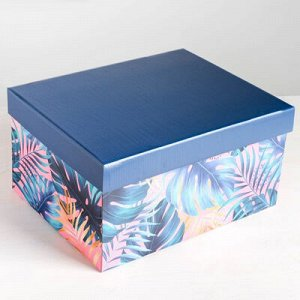 Коробка складная 31х25х16см асс