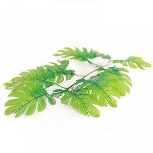 Лист зелени Монстера ветка 9листьев 53см