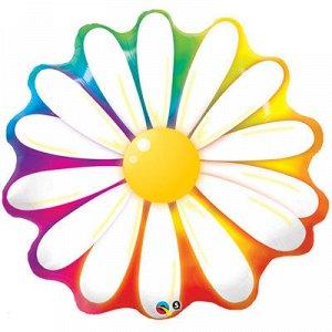 П ФИГУРА 5 Цветок Ромашка радуга
