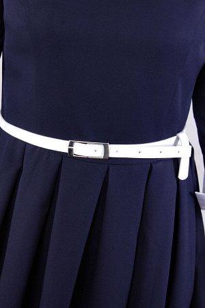 Платье мини на молнии из ткани барби