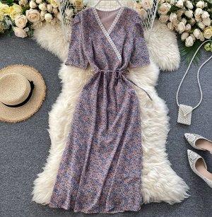 Платье, сиреневый