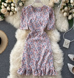 Платье, розовый
