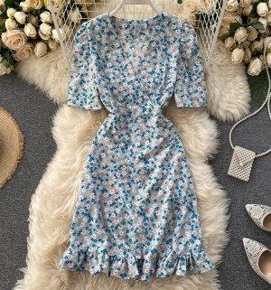 Платье, голубой