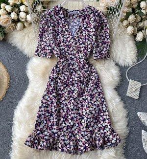 Платье, фиолетовый