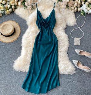 Платье,изумрудный