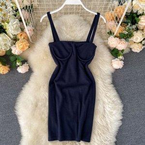 Платье Рекомендации по размеру: длина 76 см, талия 74-80 см (42-44р)