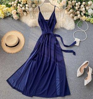Платье, синий